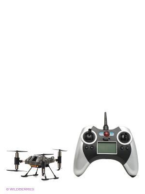 Радиоуправляемый вертолет Трикоптер От винта. Цвет: темно-серый, черный