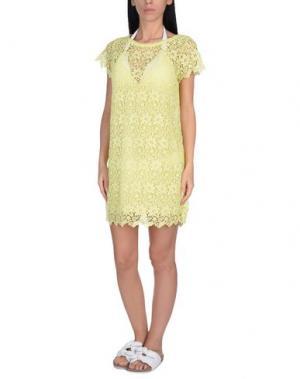 Пляжное платье ERMANNO SCERVINO BEACHWEAR. Цвет: желтый