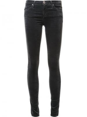 Джинсы скинни Ag Jeans. Цвет: серый