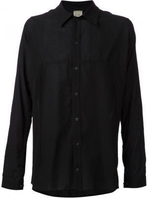 Свободная рубашка Jan Van Essche. Цвет: чёрный