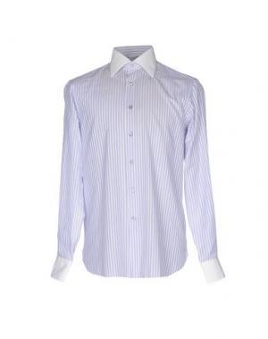 Pубашка STEFANO RICCI. Цвет: небесно-голубой