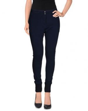 Повседневные брюки NIOI. Цвет: темно-синий