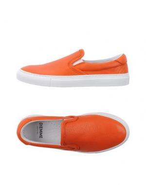 Низкие кеды и кроссовки DIEMME. Цвет: оранжевый
