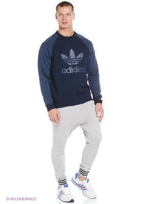 Брюки LOW CROTCH SP Adidas. Цвет: серый