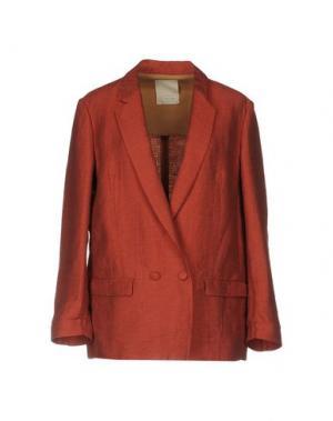 Пиджак GOLD CASE. Цвет: кирпично-красный