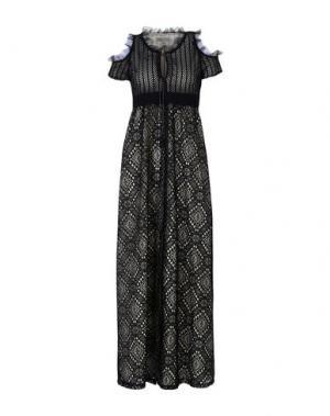 Длинное платье HEIMSTONE. Цвет: черный