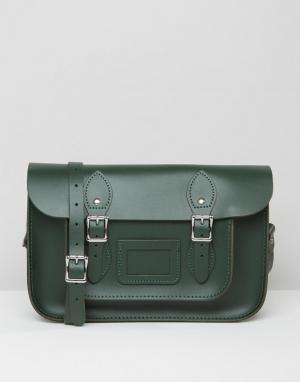 Leather Satchel Company Портфель 12.5. Цвет: зеленый