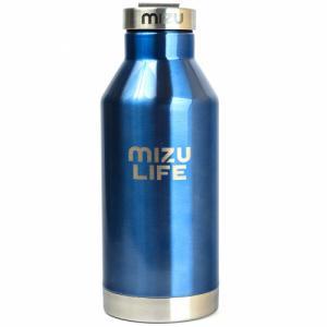 Термобутылка Для Воды MIZU. Цвет: mizu life blue steel le w/ sst cap