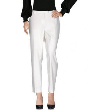 Повседневные брюки WINDSOR.. Цвет: белый