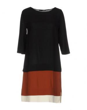 Короткое платье .TESSA. Цвет: черный