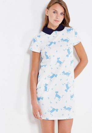 Платье Clabin. Цвет: белый