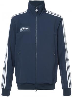 Спортивная куртка Forest Gate Adidas. Цвет: синий