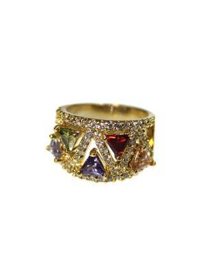 Кольцо Lastoria. Цвет: золотистый