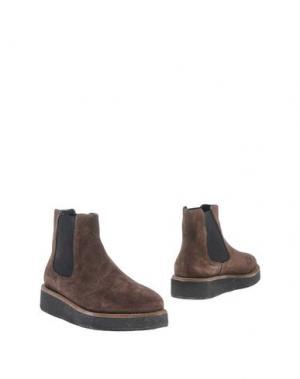 Полусапоги и высокие ботинки FIORINA. Цвет: темно-коричневый