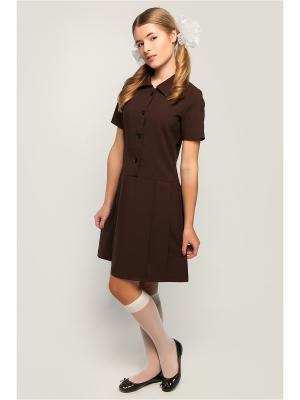 Платье с коротким рукавом ПКФ Успех