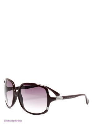 Солнцезащитные очки United Colors of Benetton. Цвет: темно-бордовый