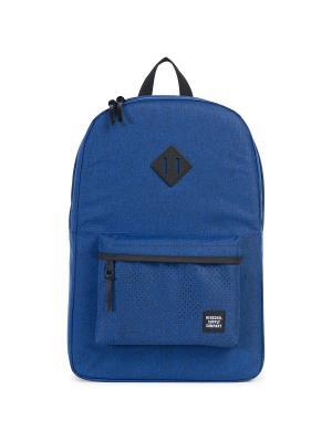 Рюкзак HERITAGE (A/S) Herschel. Цвет: синий
