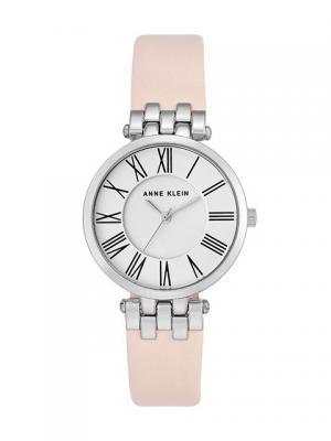 Часы ANNE KLEIN. Цвет: серебристый, розовый