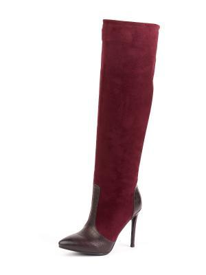 Сапоги SUMMERGIRL. Цвет: бордовый