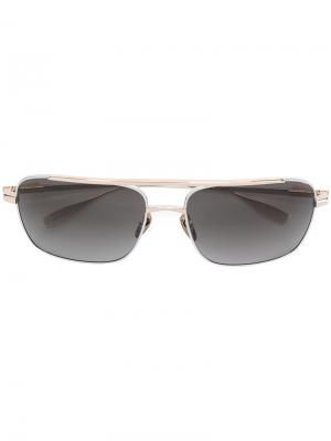 Square frame sunglasses Chrome Hearts. Цвет: серый