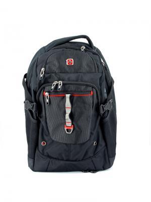 Рюкзак WENGER. Цвет: черный, красный