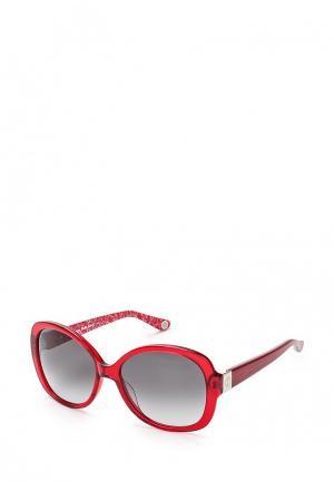 Очки солнцезащитные Juicy Couture. Цвет: красный