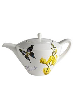 Чайник 1,0 л Лето Ceramiche Viva. Цвет: мультицвет