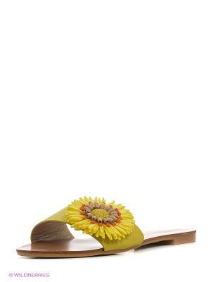 Сабо Vitacci. Цвет: желтый