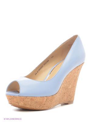 Туфли Mascotte. Цвет: голубой