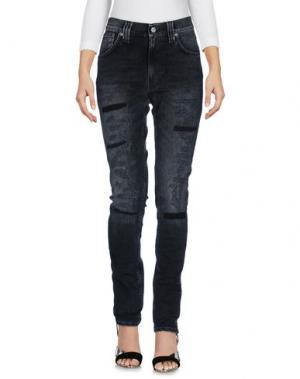 Джинсовые брюки NUDIE JEANS CO. Цвет: стальной серый