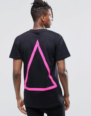 Long Clothing Футболка Prism. Цвет: черный
