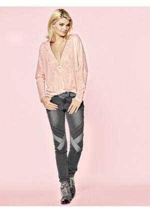 Пуловер Mandarin. Цвет: розовый