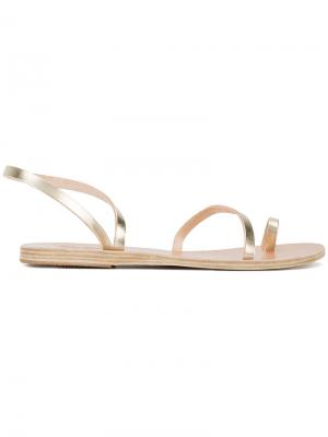 Сандалии Apli Eleftheria Ancient Greek Sandals. Цвет: металлический