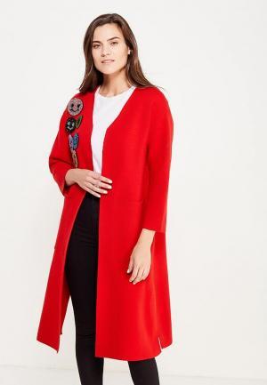 Пальто Fresh Cotton. Цвет: красный