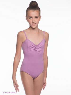 Купальник для гимнастики Sport Vision. Цвет: розовый