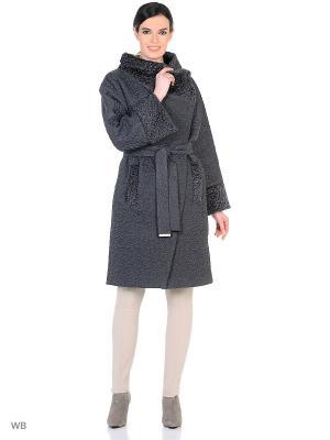 Пальто Socrat. Цвет: темно-серый