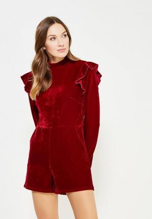 Комбинезон Glamorous. Цвет: бордовый