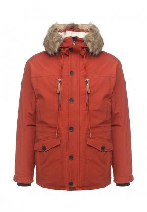 Куртка утепленная Five Seasons. Цвет: оранжевый