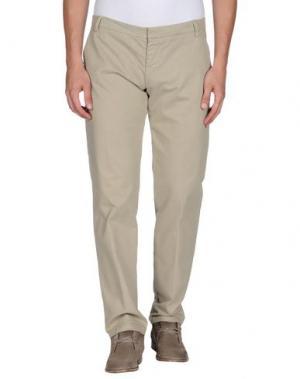 Повседневные брюки GABARDINE. Цвет: песочный
