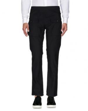 Повседневные брюки PUBLISH. Цвет: черный