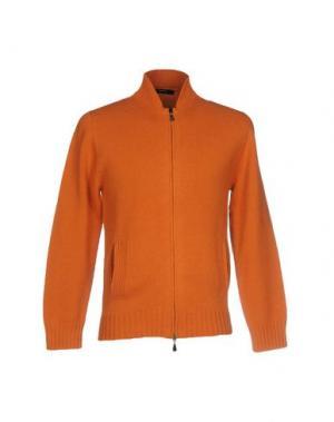 Кардиган ALPHA STUDIO. Цвет: оранжевый
