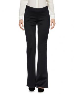 Повседневные брюки ODIEUSES. Цвет: черный