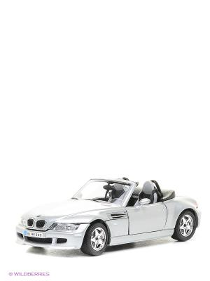 1:24 BB Машина BMW M roadster металл.# Bburago. Цвет: серый