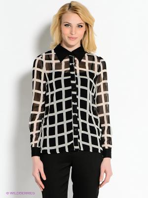 Блузка AX Paris. Цвет: черный