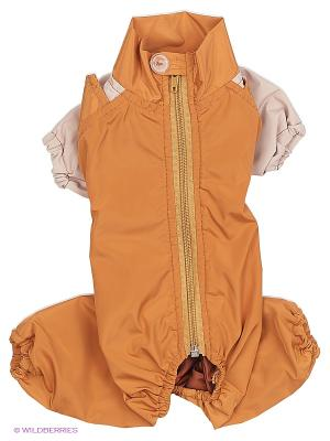 Комбинезон холодный на шелке (Йоркширский терьер №1), мальчик ТУЗИК. Цвет: светло-коричневый