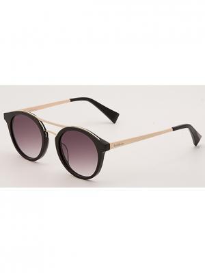 Очки солнцезащитные BLD 1703 302 Baldinini. Цвет: черный, золотистый