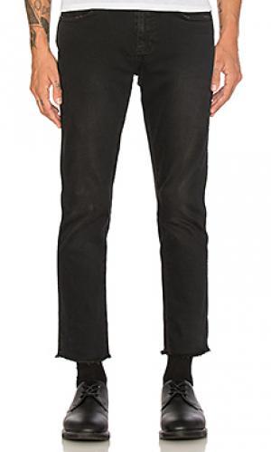 Облегающие джинсы thin captain crop ROLLAS ROLLA'S. Цвет: none
