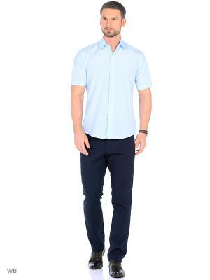 Рубашка мужская CARAT.. Цвет: голубой