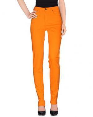 Повседневные брюки CIMARRON. Цвет: оранжевый