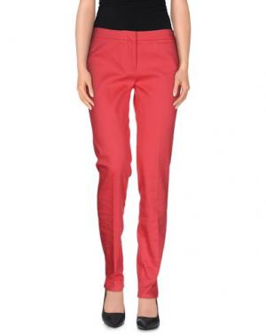 Повседневные брюки INCOTEX. Цвет: фуксия